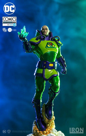 DC Iron Studios Superman Lex Luthor 1:10 Scale Statue - Action Figure Warehouse Australia | Comic Collectables