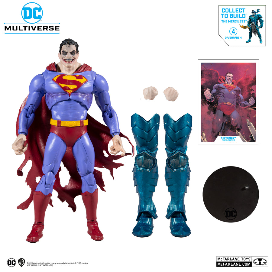 DC Multiverse McFarlane Merciless Series Superman The Infected Action Figure