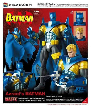 DC Mafex Batman Knightfall Azrael Batman Action Figure #144 Pre-Order