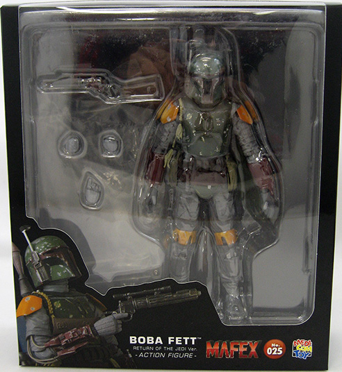 Star Wars Mafex Return of the Jedi Boba Fett Action Figure #25