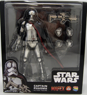 Star Wars Mafex Force Awakens Captain Phasma Action Figure #28