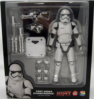 Star Wars Mafex Force Awakens First Order Stormtrooper Action Figure #21