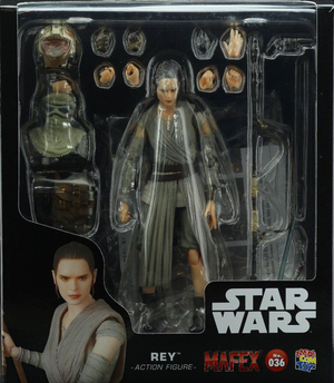 Star Wars Mafex Force Awakens Rey Action Figure #36