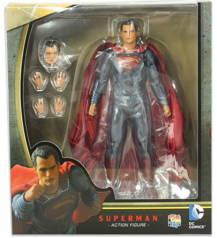 DC Mafex Batman V Superman Superman Action Figure #18 - Action Figure Warehouse Australia | Comic Collectables