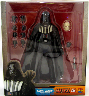 Star Wars Mafex Return of the Jedi Darth Vader Action Figure #6