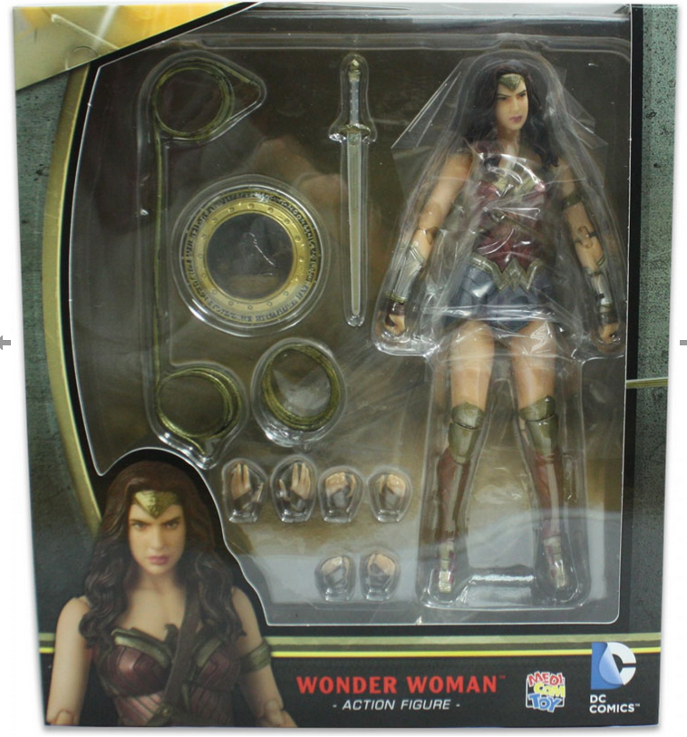 DC Mafex Batman V Superman Wonder Woman Action Figure #24 - Action Figure Warehouse Australia | Comic Collectables