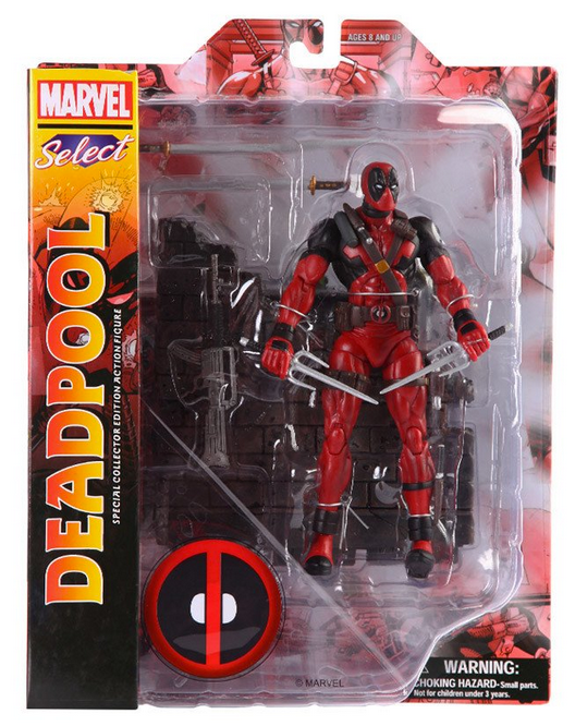 Marvel Diamond Select Deadpool Action Figure