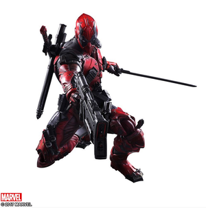 Marvel Square Enix Play Arts Kai Deadpool Action Figure