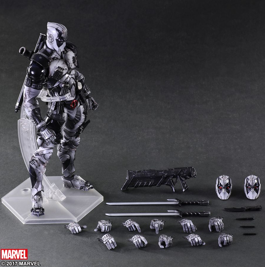 Marvel Square Enix Play Arts Kai Deadpool X-Force Action Figure