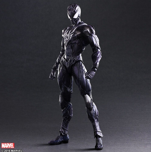 Marvel Square Enix Play Arts Kai Spider-Man Black Variant Action Figure