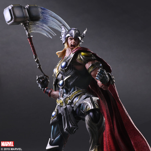 Marvel Square Enix Play Arts Kai Thor Action Figure