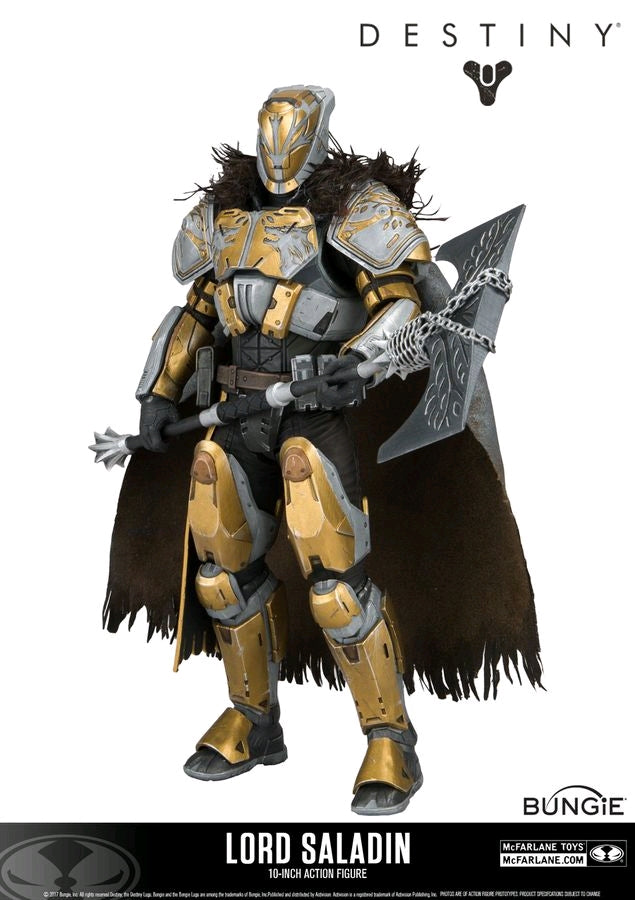 Destiny Iron Lords Lord Saladin 10 Inch Action Figure - Action Figure Warehouse Australia | Comic Collectables