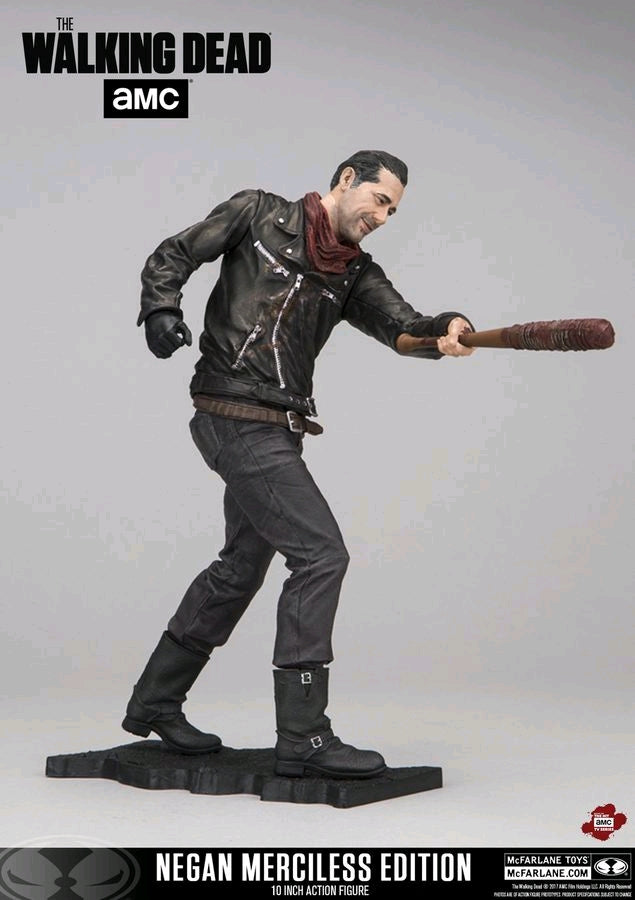 The Walking Dead TV Series Negan Merciless Edition 10 Inch Action Figure