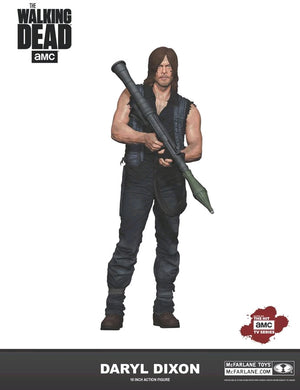 The Walking Dead TV Series Daryl Dixon w/ Rocket Launcher 10 Inch Action Figure