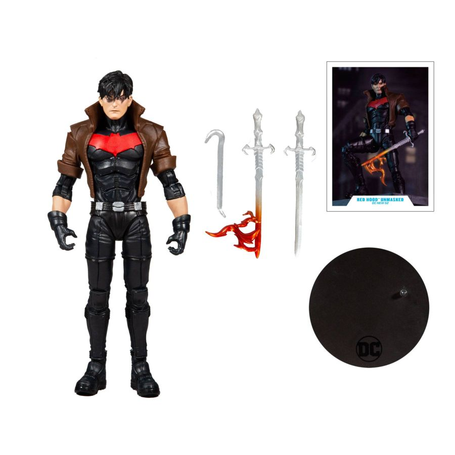 DC Multiverse McFarlane Series Red Hood Unmasked Gold Label Collection Action Figure Pre-Order