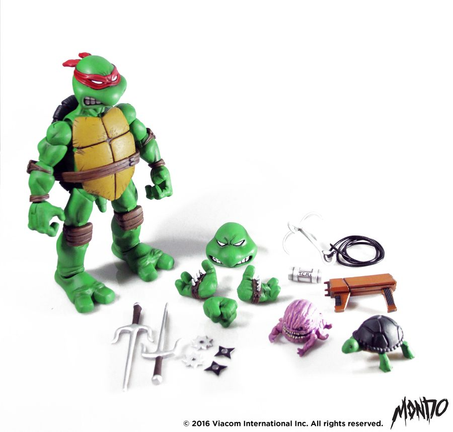 Teenage Mutant Ninja Turtles Mondo Raphael 1:6 Scale Action Figure