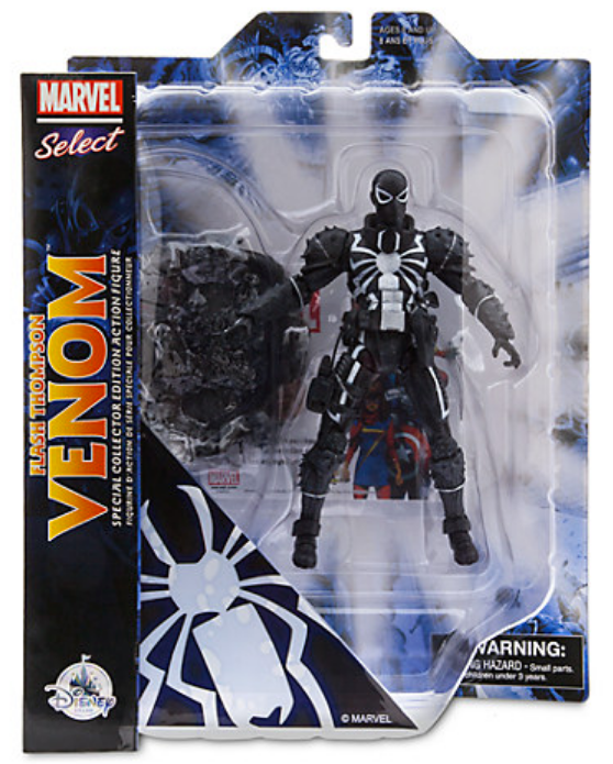 Marvel Diamond Select Disney Store Agent Venom Action Figure