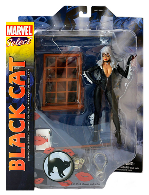 Marvel Diamond Select Black Cat Action Figure