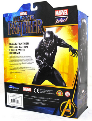 Marvel Diamond Select Black Panther Action Figure