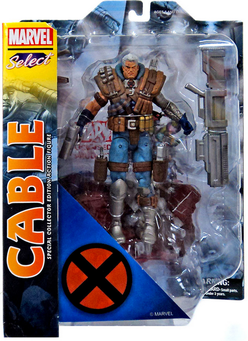 Marvel Diamond Select Cable Action Figure