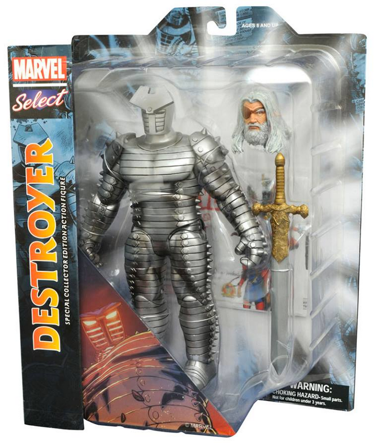 Marvel Diamond Select Destroyer Odin Action Figure