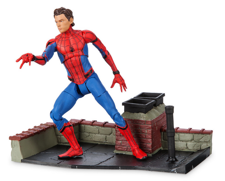 Marvel Diamond Select Disney Store Homecoming Spider-Man Action Figure