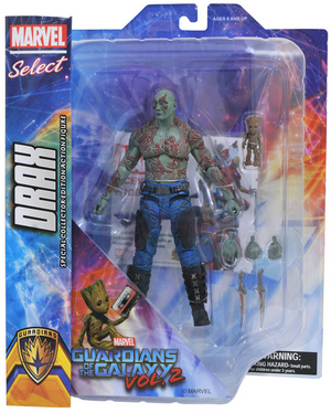 Marvel Diamond Select Guardians Of The Galaxy Drax & Baby Groot Action Figure