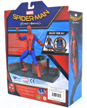 Marvel Diamond Select Spider-Man Homecoming Action Figure