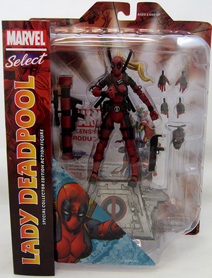 Marvel Diamond Select Lady Deadpool Action Figure
