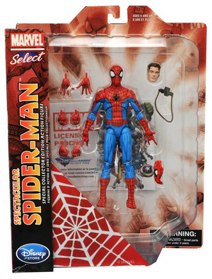 Marvel Diamond Select Disney Store Spectacular Spider-Man Action Figure Pre-Order
