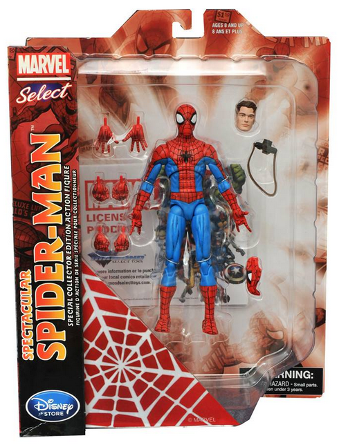 Marvel Diamond Select Disney Store Spectacular Spider-Man Action Figure