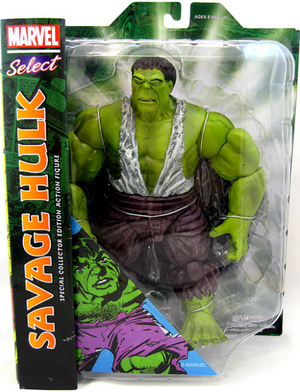 Marvel Diamond Select Savage Hulk Action Figure