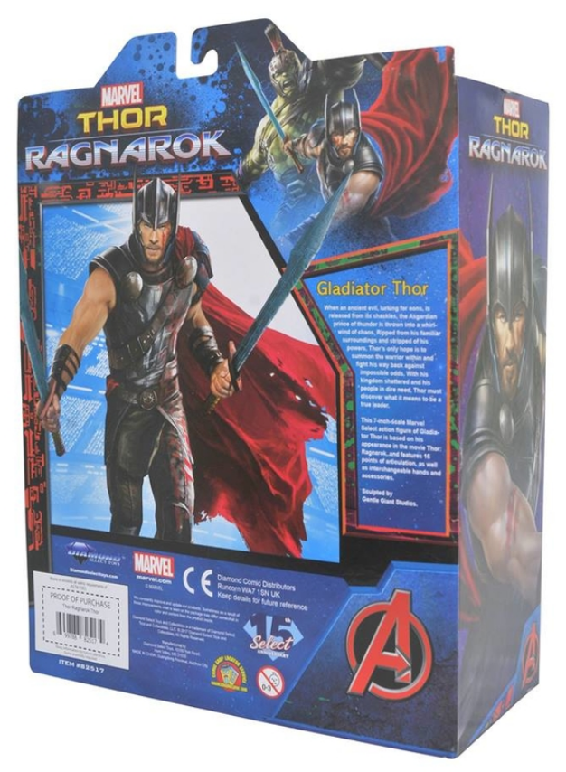 Marvel Diamond Select Ragnarok Gladiator Thor Action Figure