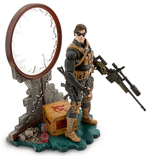 Marvel Diamond Select Disney Store Winter Soldier Action Figure