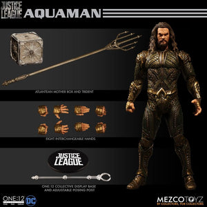 DC Mezco Justice League Aquaman One:12 Scale Action Figure - Action Figure Warehouse Australia | Comic Collectables