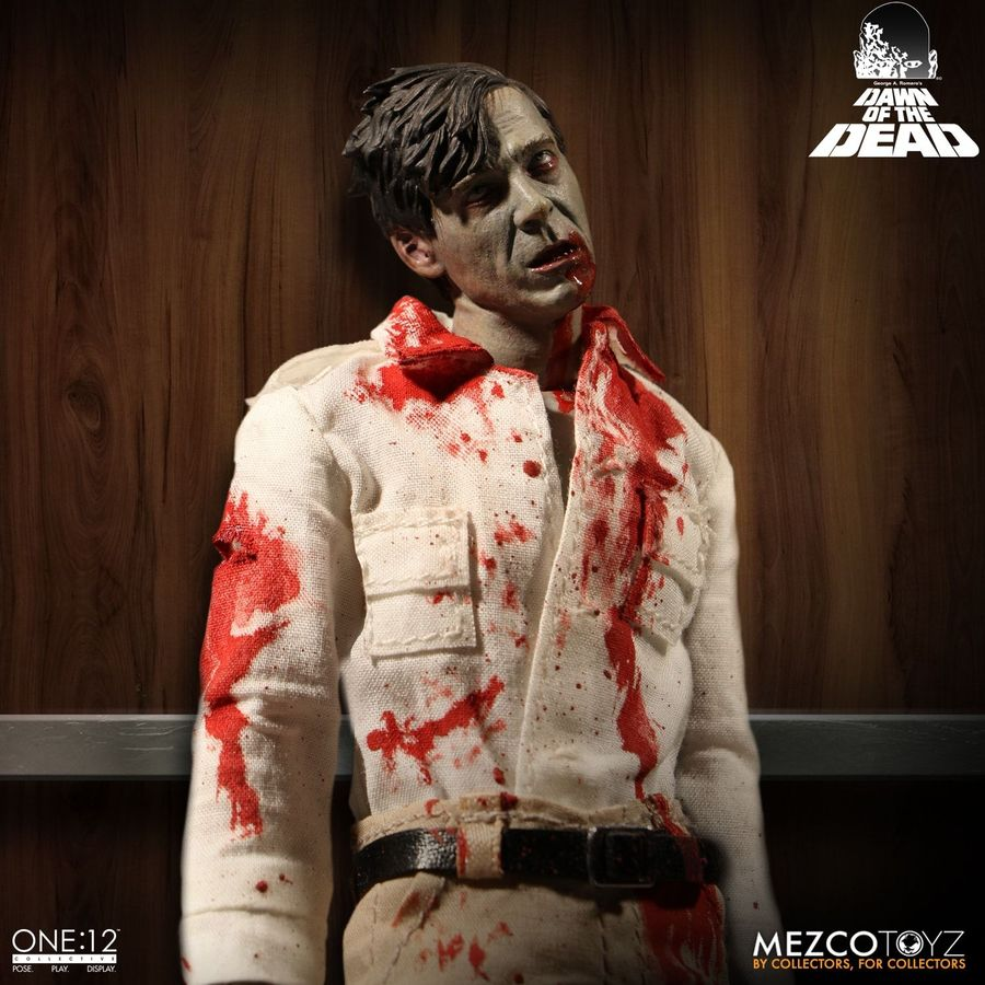 Dawn Of The Dead Mezco Zombies One:12 Collective Action Figure 2-Pack Pre-Order - Action Figure Warehouse Australia | Comic Collectables