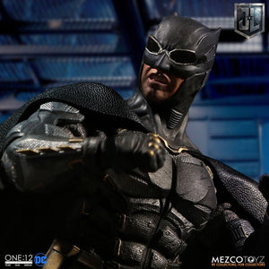 DC Mezco Justice League Batman Tactical Suit One:12 Scale Action Figure - Action Figure Warehouse Australia | Comic Collectables