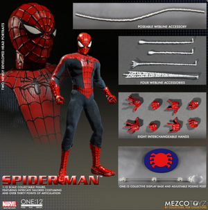 Marvel Mezco Spider-Man One:12 Scale Action Figure