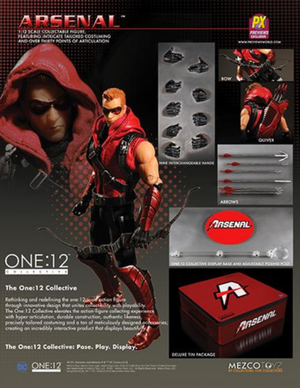DC Mezco PX Previews Exclusive Arsenal One:12 Scale Action Figure - Action Figure Warehouse Australia | Comic Collectables