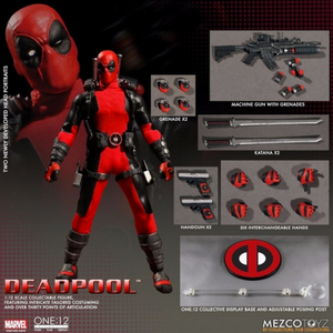 Marvel Mezco Deadpool One:12 Scale Action Figure