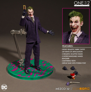DC Mezco The Joker One:12 Scale Action Figure - Action Figure Warehouse Australia | Comic Collectables