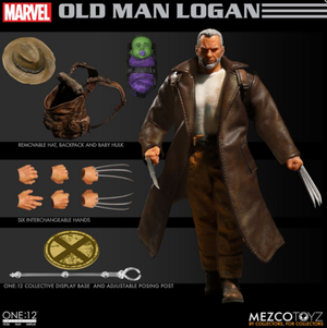 Marvel Mezco Old Man Logan One:12 Scale Action Figure