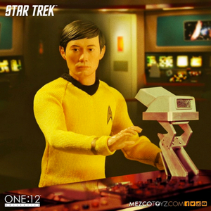 Star Trek Mezco One:12 Sulu One:12 Scale Action Figure