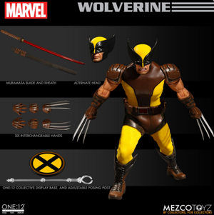 Marvel Mezco Wolverine One:12 Scale Action Figure
