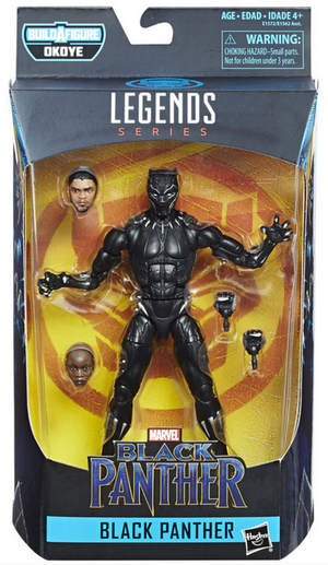 Marvel Legends Black Panther Series Black Panther Action Figure