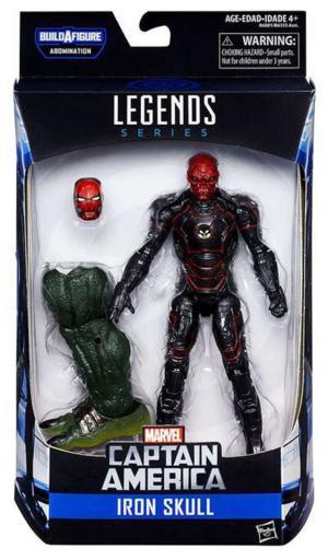 Marvel Legends Civil War Series Iron Skull Action Figure
