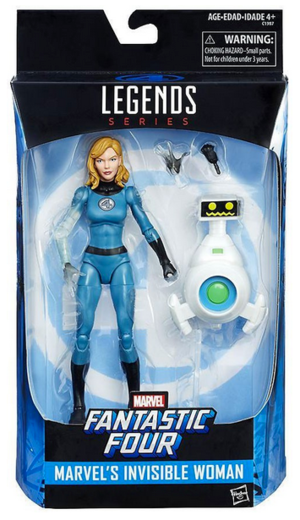 Marvel Legends Exclusive Fantastic Four Invisible Woman Action Figure