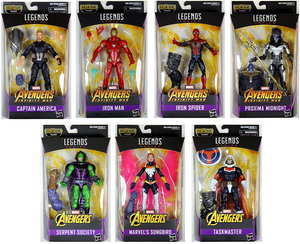 Marvel Legends Avengers Infinity War Series Wave 1 Set Of Seven