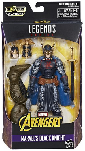 Marvel Legends Avengers Infinity War Black Knight Action Figure