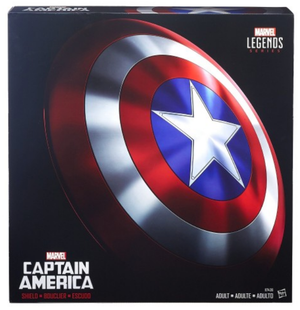 Marvel Legends Captin America Shield 1:1 Prop Replica